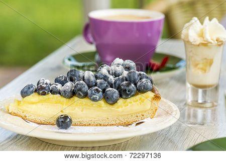 Blueberry Tart