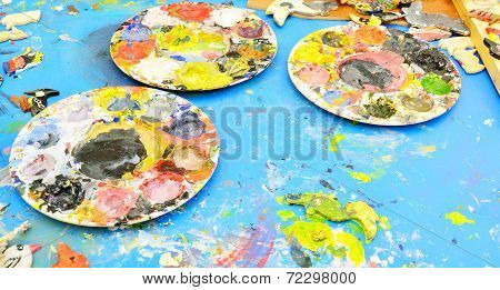 Used Painter's Pallette