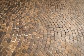 picture of paving stone  - Stone paving texture - JPG
