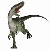 foto of vicious  - Monolophosaurus was a carnosaur predator of the Jurassic Age of China and is related to allosaurs - JPG