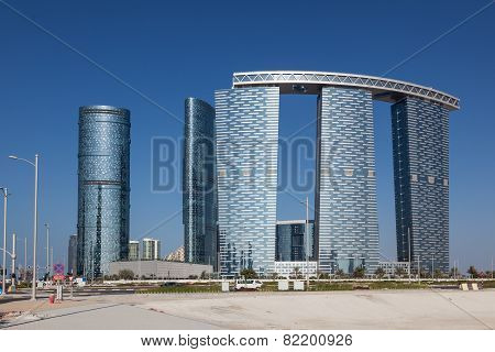 Gate Towers In Abu Dhabi