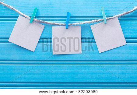 Hanging Blank Note Tags