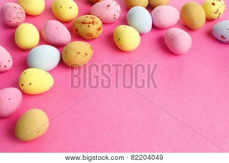 Candy Easter egg border