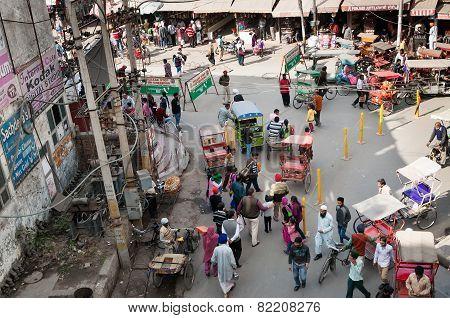 On The Street In Amritsar. Punjab. India.