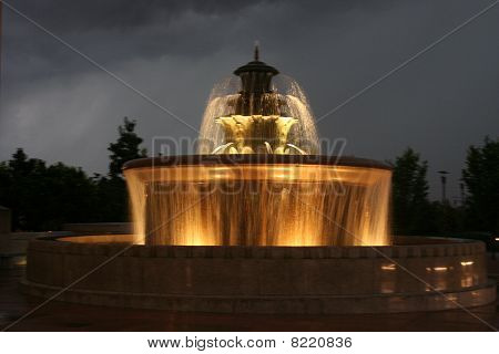 Water Fountain lights