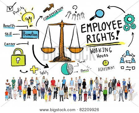 Employee Rights Employment Equality Job People Diversity Concept