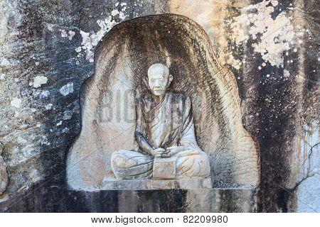 Sakonnakorn Thailand - November 28: The Famaus Monk Names