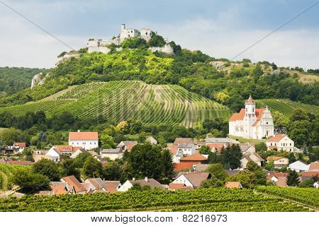 ruins of Falkenstein Castle, Lower Austria, Austria