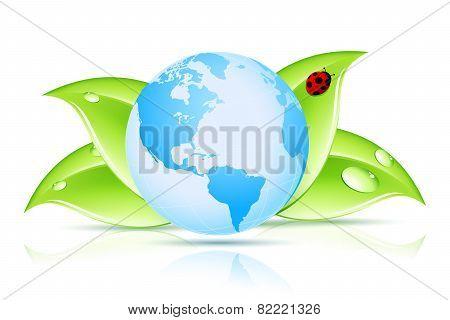 Green Earth Symbol