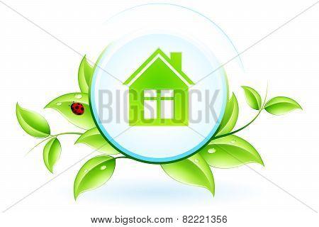 Green House Symbol