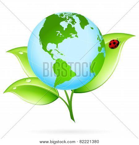 Green Earth Icon