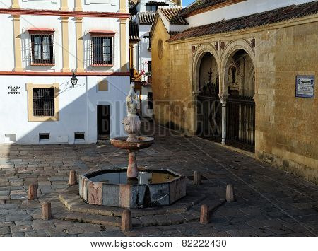 The Plaza Del Potro (square Of The Colt), Cordoba, Spain