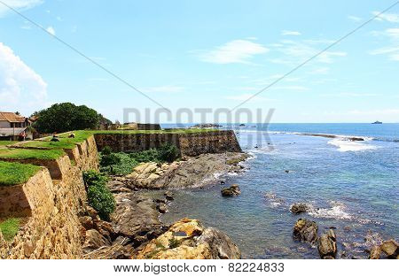The Galle Fort, Sri Lanka, Indian ocean