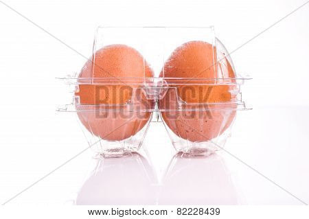 Egg Tray With Four Egg