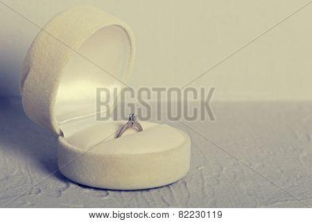 Elegant Ring In Box