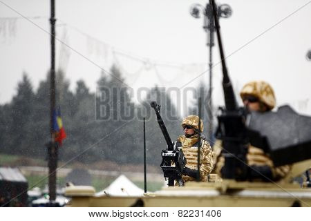 Romania National Day Soldiers