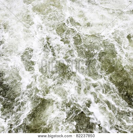 Flowing water abstract background
