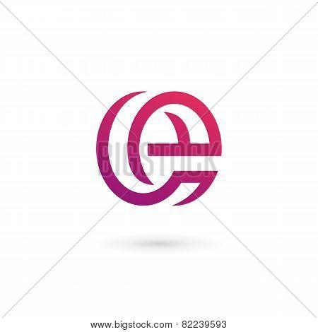 Letter E Logo Icon Design Template Elements