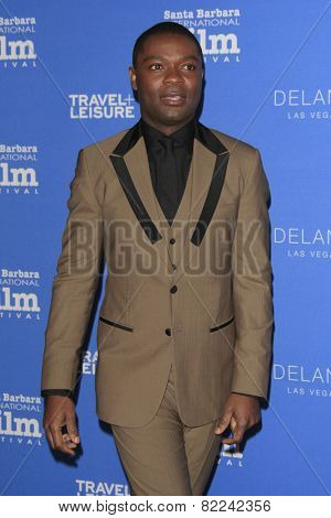 SANTA BARBARA - FEB 1:  David Oyelowo at the Santa Barbara International Film Festival - Virtuosos Award at a Arlington Theater on February 1, 2015 in Santa Barbara, CA