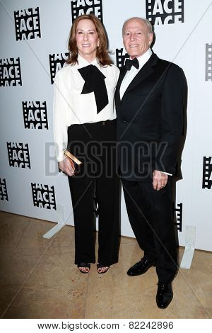LOS ANGELES - JAN 30:  Kathleen Kennedy, Frank Marshall at the 65th Annual ACE Eddie Awards at a Beverly Hilton Hotel on January 30, 2015 in Beverly Hills, CA