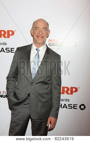LOS ANGELES - FEB 2:  J.K. Simmons at the AARP 14th Annual Movies For Grownups Awards Gala at a Beverly Wilshire Hotel on February 2, 2015 in Beverly Hills, CA