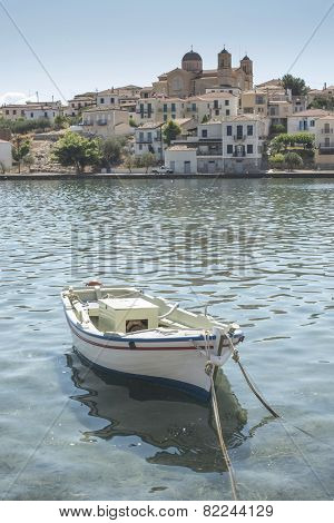 Fishing Boat In Gythio