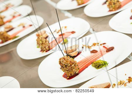 Decorated Appetizer