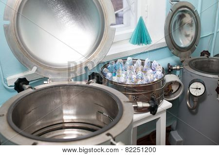 Autoclaves In A Medical Lab