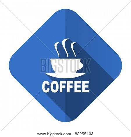 espresso flat icon hot cup of caffee sign