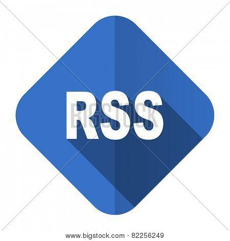 rss flat icon