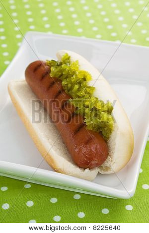 Hot Dog With Relish