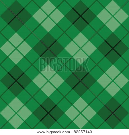 Bias Plaid in Green
