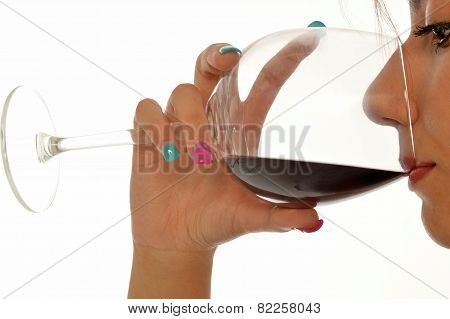 The Tasting Of A Good Red Wine