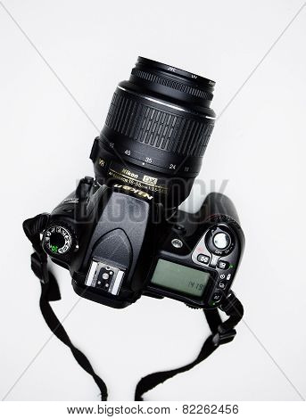 Photocamera Nikon D80 And Nikkor Lens In Private Collection