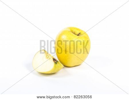 whole and quarter an apple