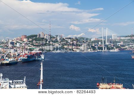 View of Vladivostok, Russia
