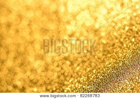 abstract golden background, festive design element