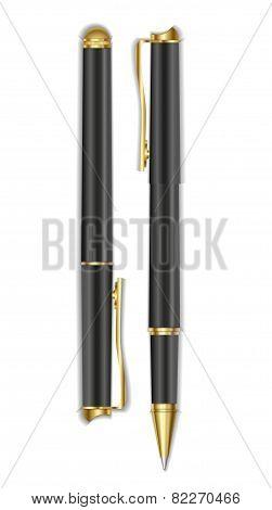Realistic vector pen