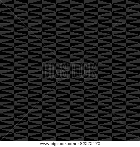 Geometric Seamless  Abstract Pattern with Dark Triangles