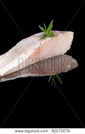 Fresh Perch Fish Fillet.
