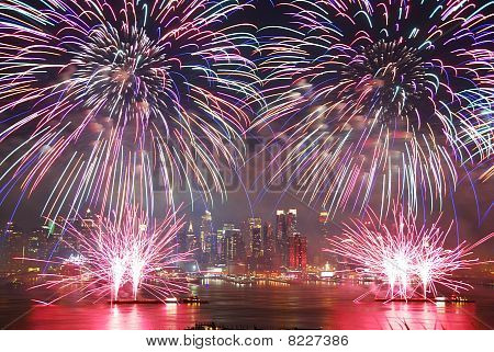 New York City Fireworks Show
