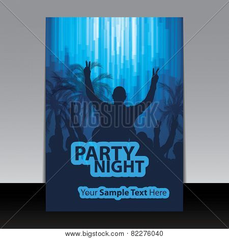 Flyer or Cover Design - Party Night