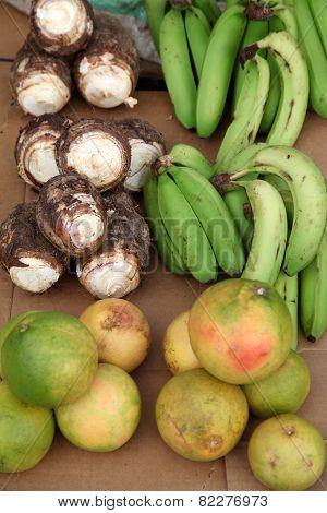 Caribbean Fruit Stall