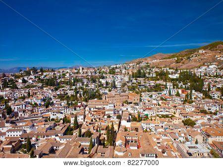 Aerial View Of Albaicin, Granada