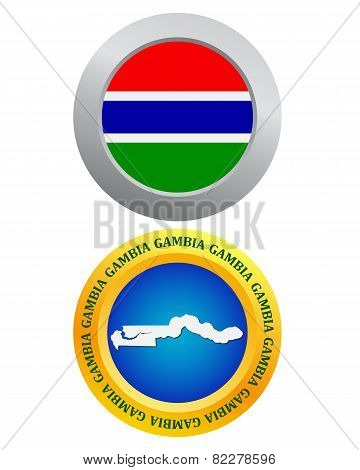 Button As A Symbol Gambia