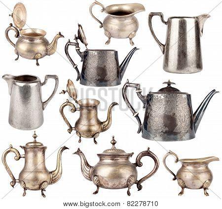 Antique Teapots