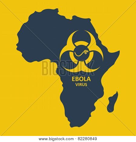 Vector africa and ebola virus