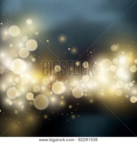 Light bokeh light background