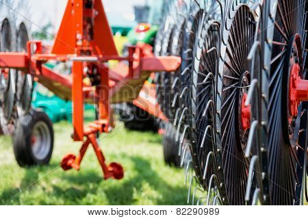 Hay Rake Farm Machinery Equipment