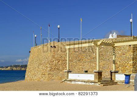 Armacao De Pera Fort on the Algarve